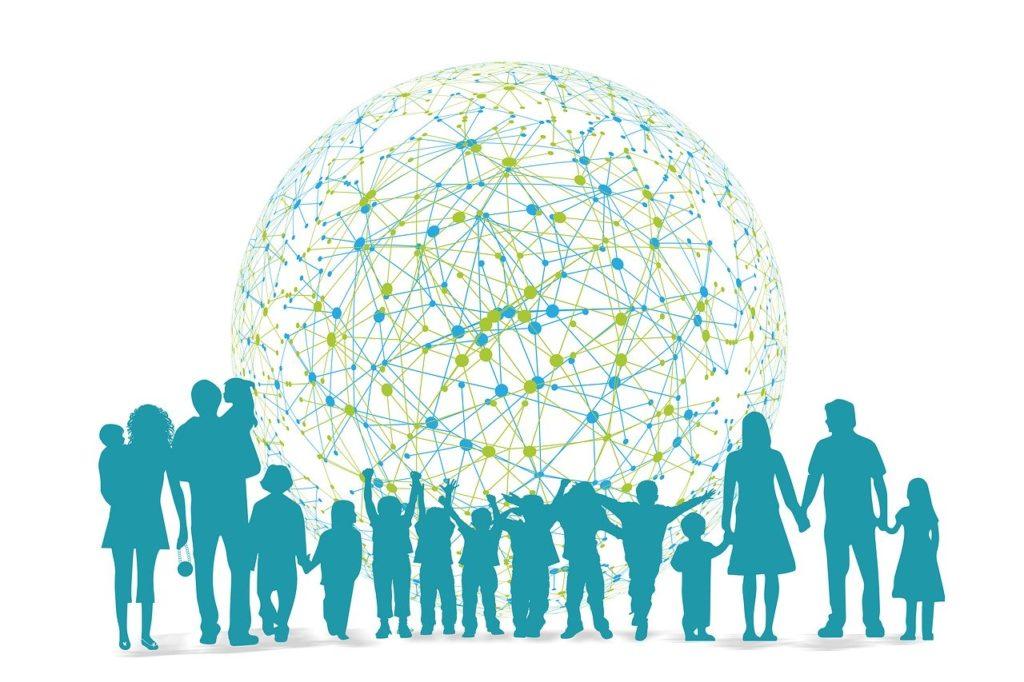 children, family, network